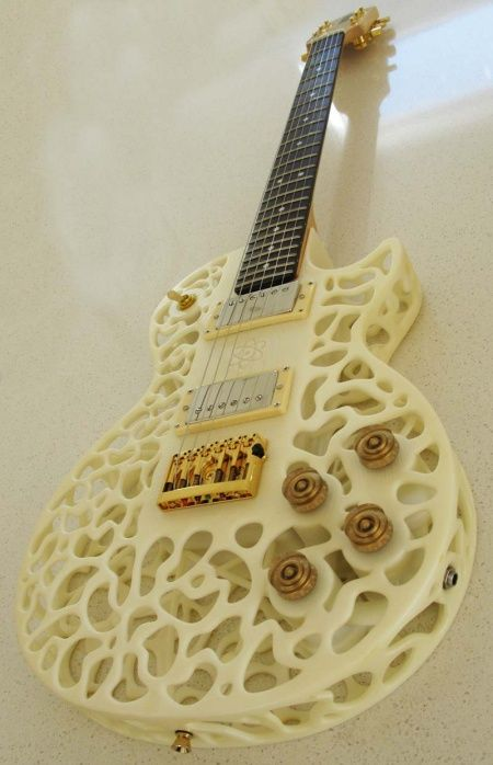 Wonder how a 3D Printed Guitar Sounds?