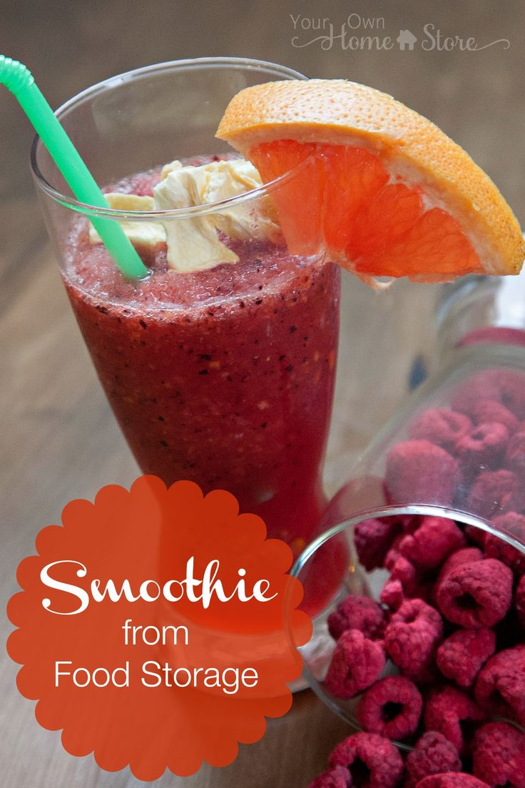 Food Storage Recipes | Eat What You Store | How to Make a Food Storage Smoothie | Thrive Life | Freeze Dried Fruit Recipes