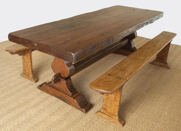 Best Refectory Table Images On Pinterest Antique Dining - Chantilly distressed dining table by little tree furniture
