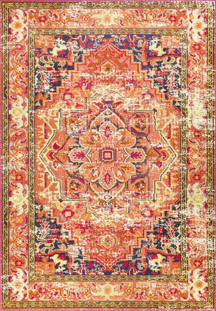 Sashi Orange Area Rug