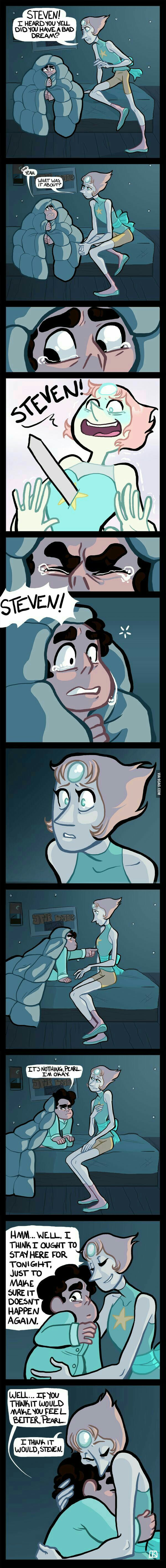 Bad dream (Animation  : Steven Universe) - 9GAG