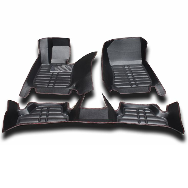 92.95$  Buy here - http://aliejr.worldwells.pw/go.php?t=32394882308 - XPE+Leather material floor mat anti slip Car mats for BMW X3 2013 Black Grey Brown Beige car floor mats