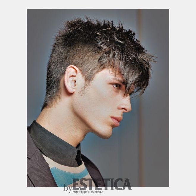 Tagli Capelli by Estetica.it: Tagli capelli uomo corto castano: arrivano i mohicani