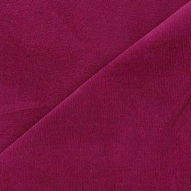 Tissu velours milleraies Melda 200gr/ml violine x10cm