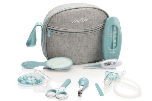 Baby-Kulturtasche für baby : Material und Ausstattung für Säuglinge und Kleinkinder, Babymoov