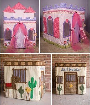 various card table tent ideas