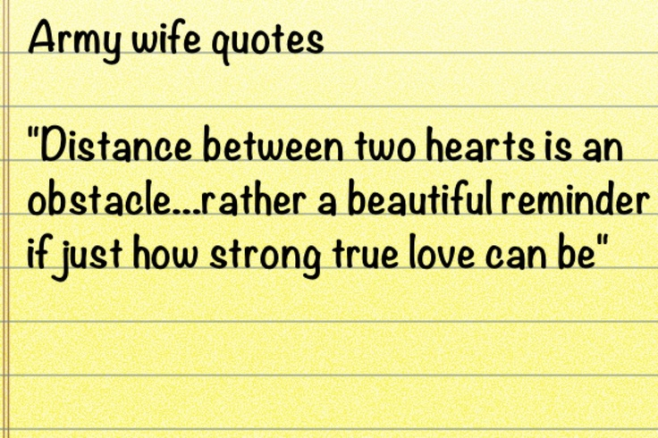 Army Wife Quotes And Sayings