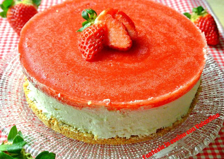 Cheesecake Fragole e mascarpone