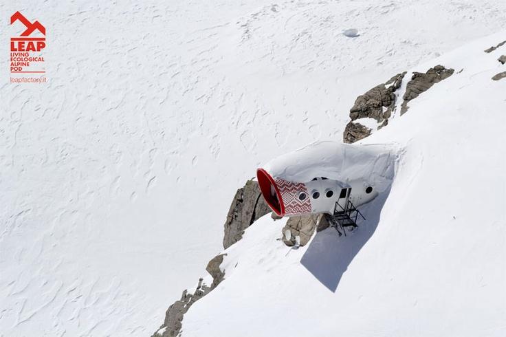 Gervasutti bivouac under the snow - March 2013