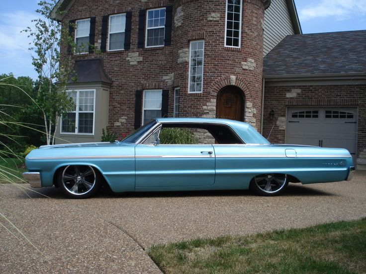 1964 impala SS, air ride, 18/20's
