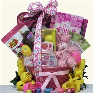 Easter Gift Basket for Girls Ages 6 to 9 Years Old ~~ #easter #giftbasket ~~