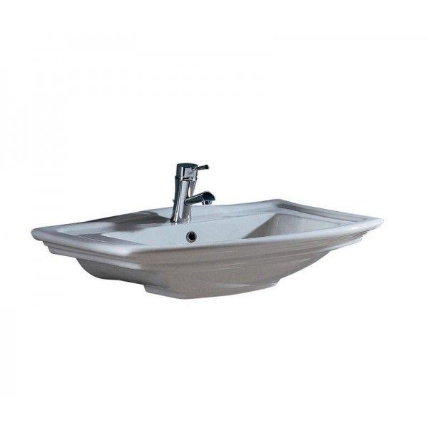 Bathroom Wall Basin - Washington Vitreous China White