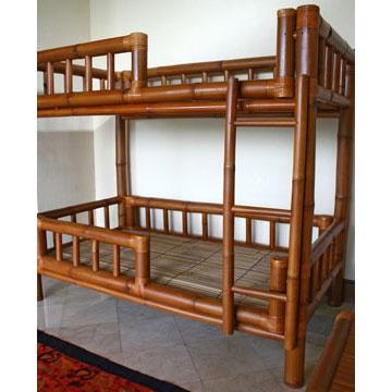 Bamboo Bunk Bed
