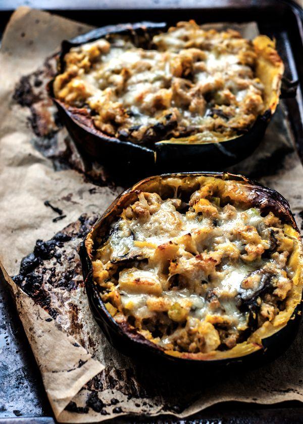 ... Stuffed Acorn Squash on Pinterest | Squashes, Crawfish Pie and Acorn