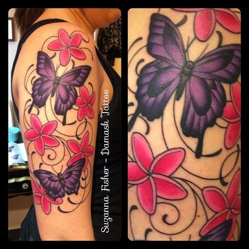 25 best ideas about butterfly sleeve tattoo on pinterest for Butterfly tattoo arm designs