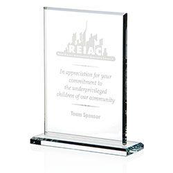 35211 - JAFFA® - Vertical Gem Cut Award - Large. #promoproducts