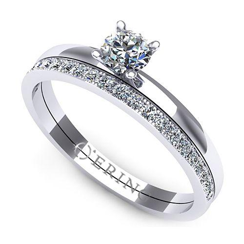 Inel logodna L87ADI inel cu diamant