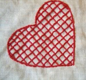 Hallandssom embroidery on 365 saker du kan slojda via Annekata hallandssöm 7