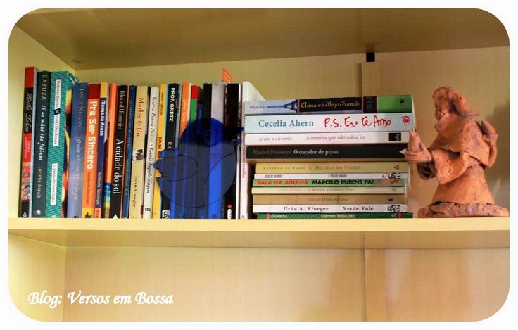 Versos em Bossa Nova...: Blogagem coletiva KCL: Livros, aonde você guarda os seus?  #kcl, #blogagem, #livros