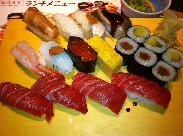 Sushi Platter @Itamae Sushi Roppongi