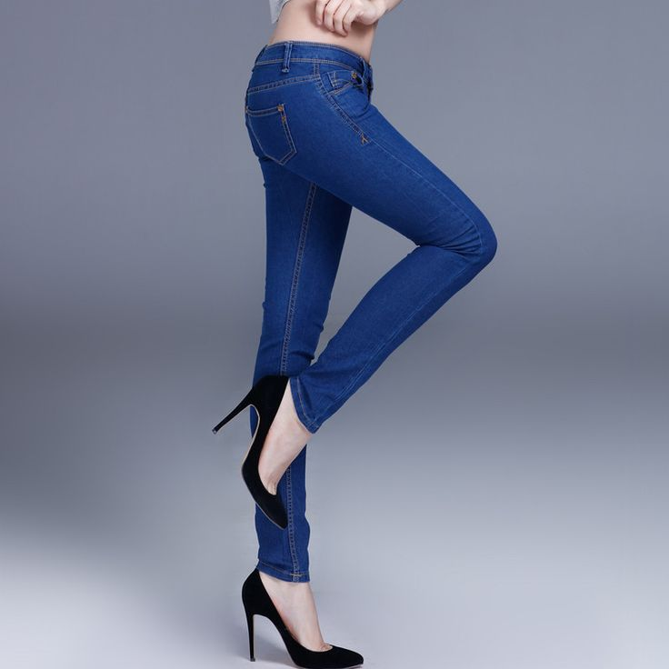 Available Now on our store:  Women's Skinny Je... Check it out here ! http://mamirsexpress.com/products/womens-skinny-jeans-blue-slim-wild-full-length-jeans-sexy-tight-skinny-denim-cotton-2016-denim-stretchy-womens-skinny-jeans?utm_campaign=social_autopilot&utm_source=pin&utm_medium=pin
