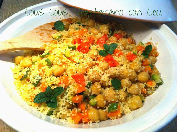 Cucinando tra le nuvole: Cous Cous Vegetariano con Ceci
