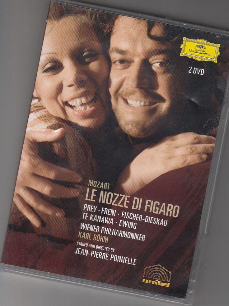 2 DVD Set Mozart Le Nozze di Figaro Kiri te Kanawa Prey Fischer-Dieskau