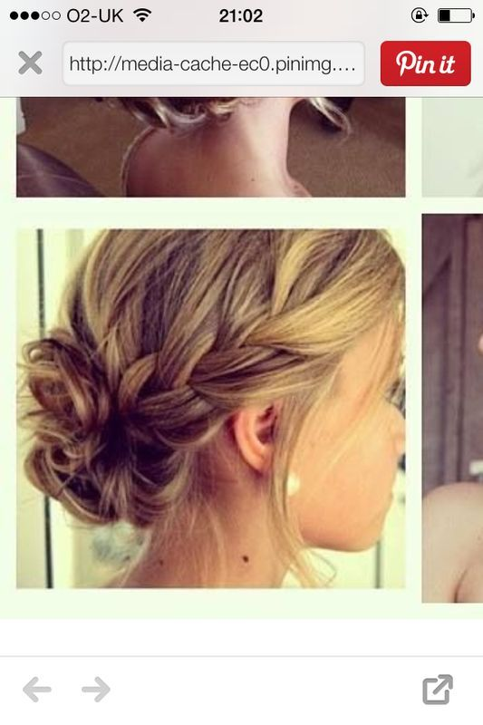 Kay -bridesmaid hair