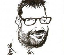 Caricature portrait of the Boss - Karikatures.com #art #caricature #cartoon #boss #bossday #custom #portrait #handdrawn