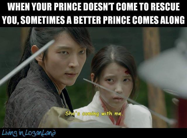 """A better prince"". You got that right! Moon Lovers"