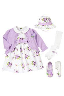 Pansy Petals - Abby's First Easter Outfit