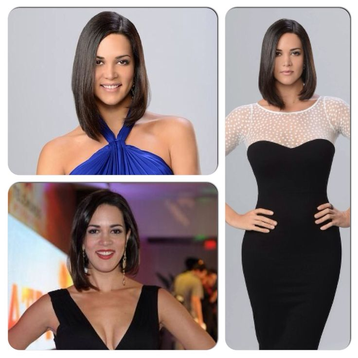 Love her hair!! Would love to cut mine like hers.  Miss Venezuela Monica Spear