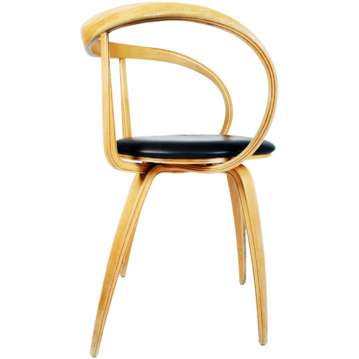 Pretzel Armchair by George Nelson and Associates | From a unique collection of antique and modern armchairs at https://www.1stdibs.com/furniture/seating/armchairs/