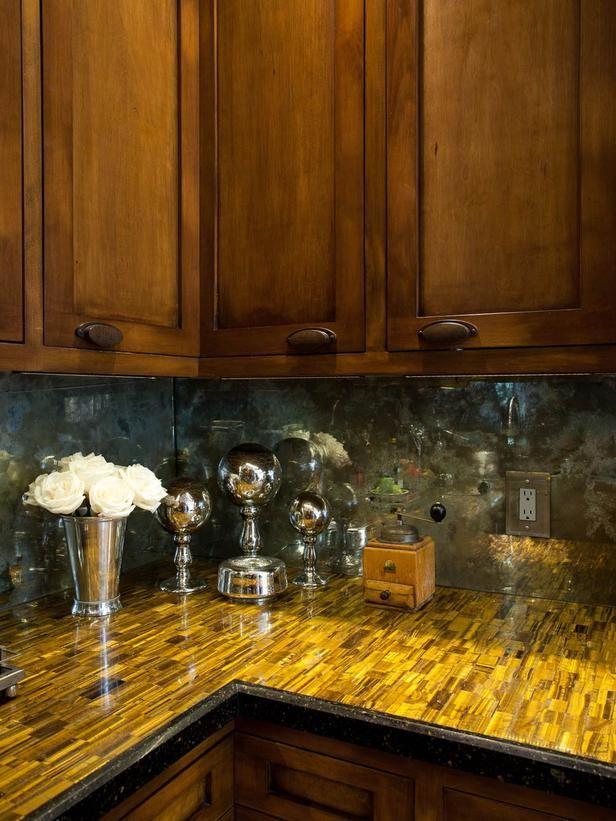 White Cottage Kitchen with Beadboard Cabinets and Bright Red Backsplash : Designers' Portfolio : HGTV - Home & Garden Television