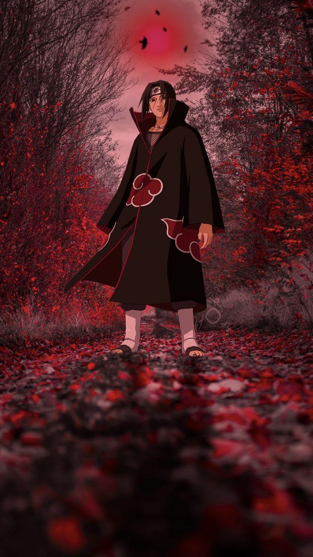 Itachi Uchiha wallpaper em 2020   Naruto filme ...