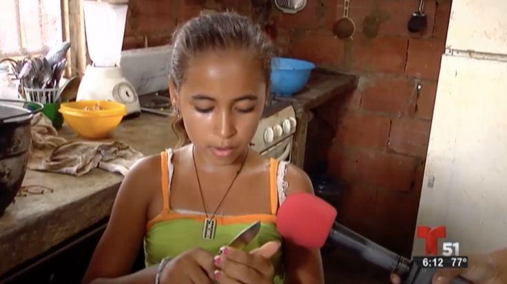 Intenta No Llorar. Antes De Botar Tu Comida Recuerda Siempre Que Esto Es Lo Que Comen Los Niños Pobres Venezolanos Mientras Maduro Come Tres Veces Al Día