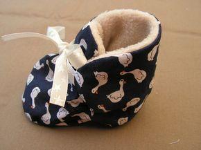 chausson côté petits canards