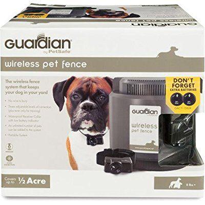 Wireless Pet Containment System Guardian Petsafe Pugs