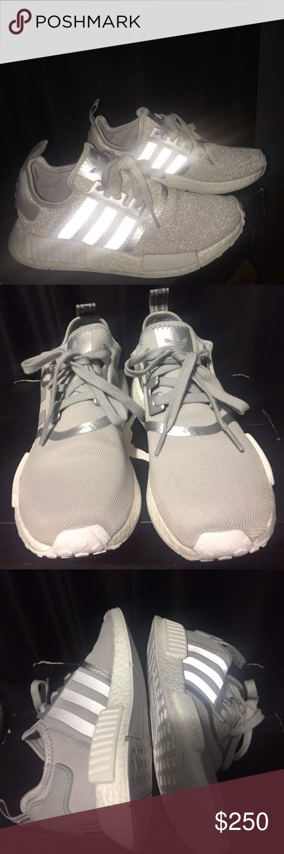 adidas NMD XR1 Primeknit Solid Grey Cheap NMD Shoes
