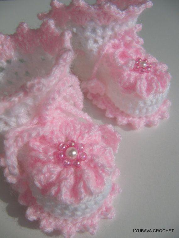 Crochet Baby Booties Pattern