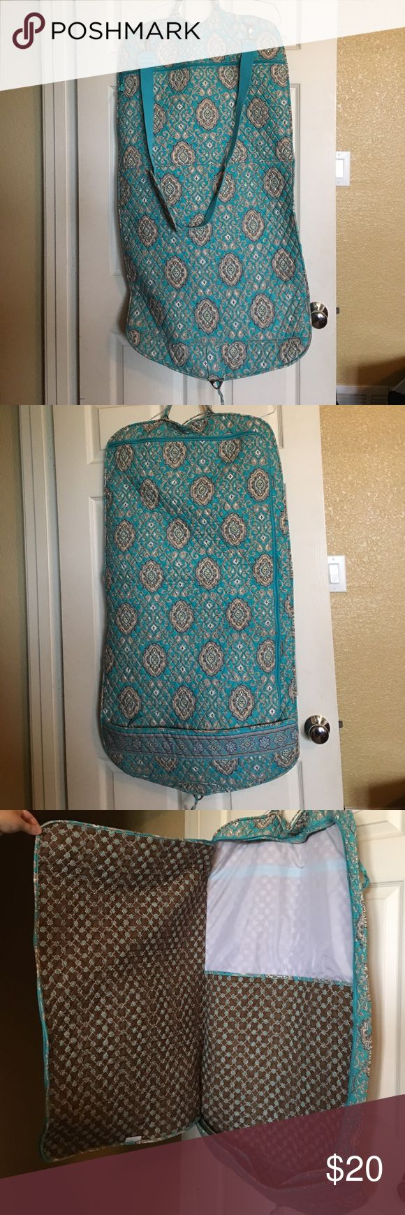 Vera Bradley garment bag Good condition. Latch broken on strap as pictured, but doesn't affect use. Vera Bradley Bags Travel Bags