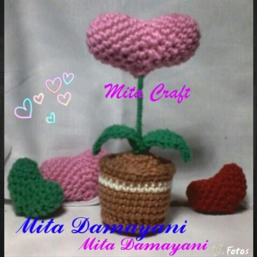 Tree of Love Amigurumi by Mita Damayani Yogyakarta-Indonesia #crochet make me happy