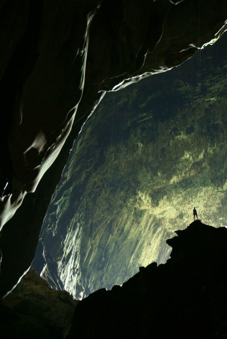 Mulu Caves - Sarawak, Malaysia, Borneo - world's largest cave chamber