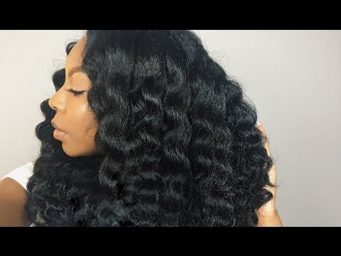 How to Do Natural-Looking Crochet Braids⎮Outre Cuevana Twist Braid - YouTube
