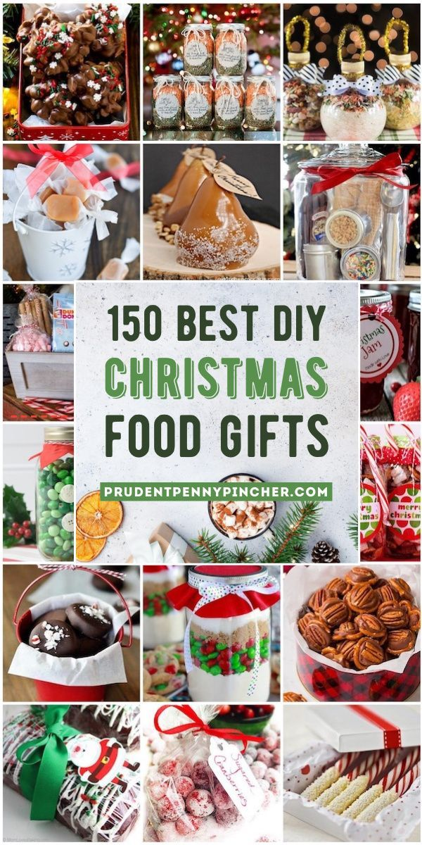 Best Food Gifts Christmas 2020 150 Best Food DIY Christmas Gifts in 2020 | Christmas food gifts