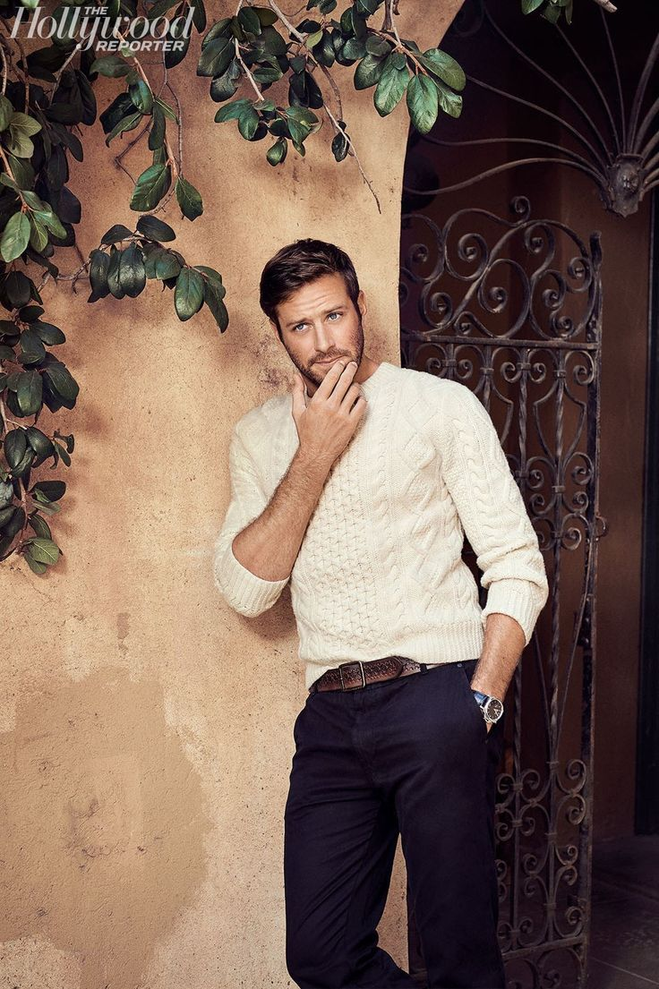 Armie Hammer in The Hollywood Reporter