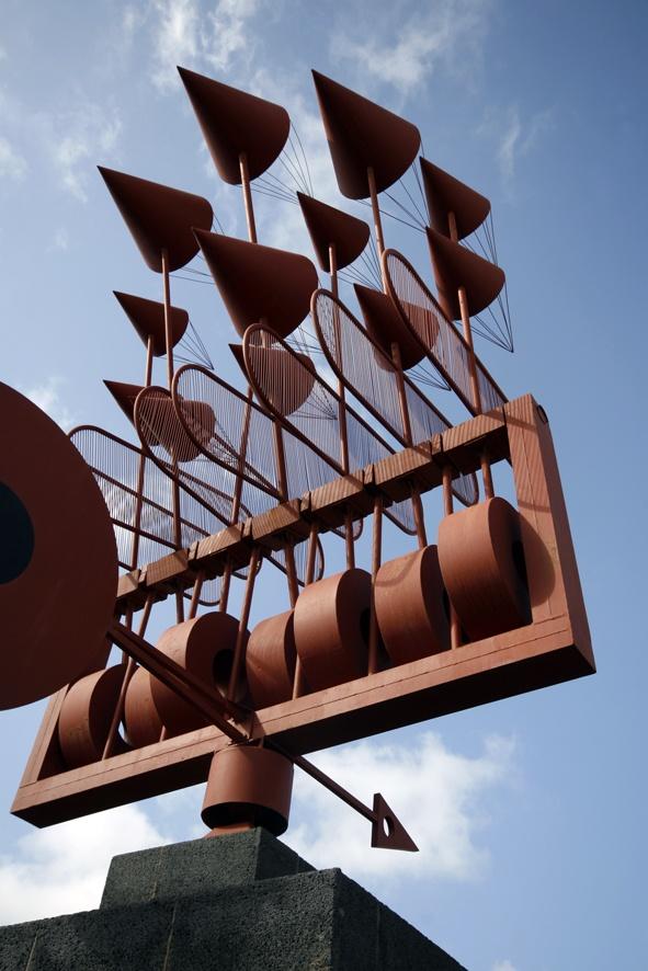 juguete del viento de Cesar Manrique