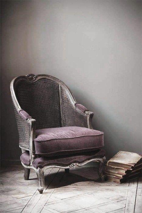 French + vintage decor #amethyst