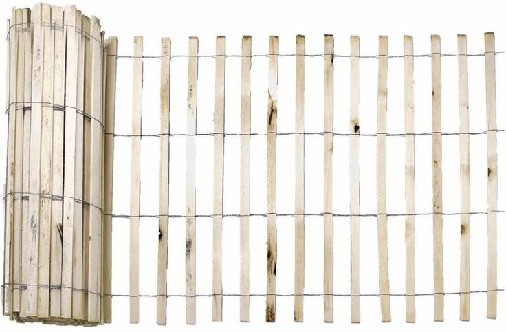 50 Natural Wood Snow Fence Roll #snowfence #fence #wooden #wood
