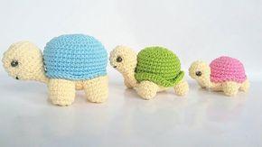 Evlynpartage: Tortue By Kura Kura Tuto au Crochet